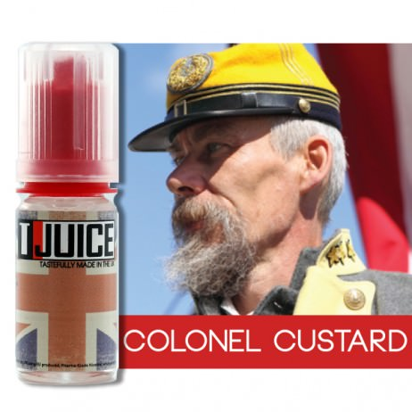 T Juice Colonel Custard E Liquid